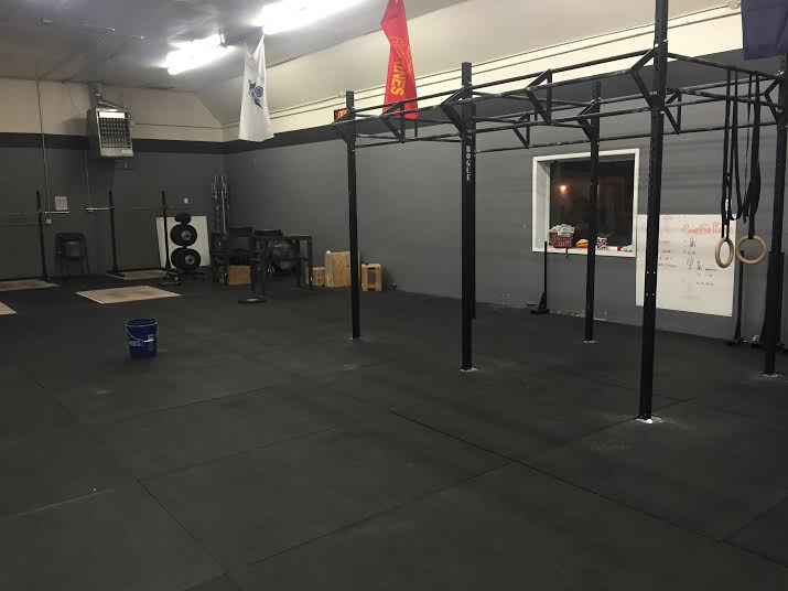 Crossfit frontier our facility