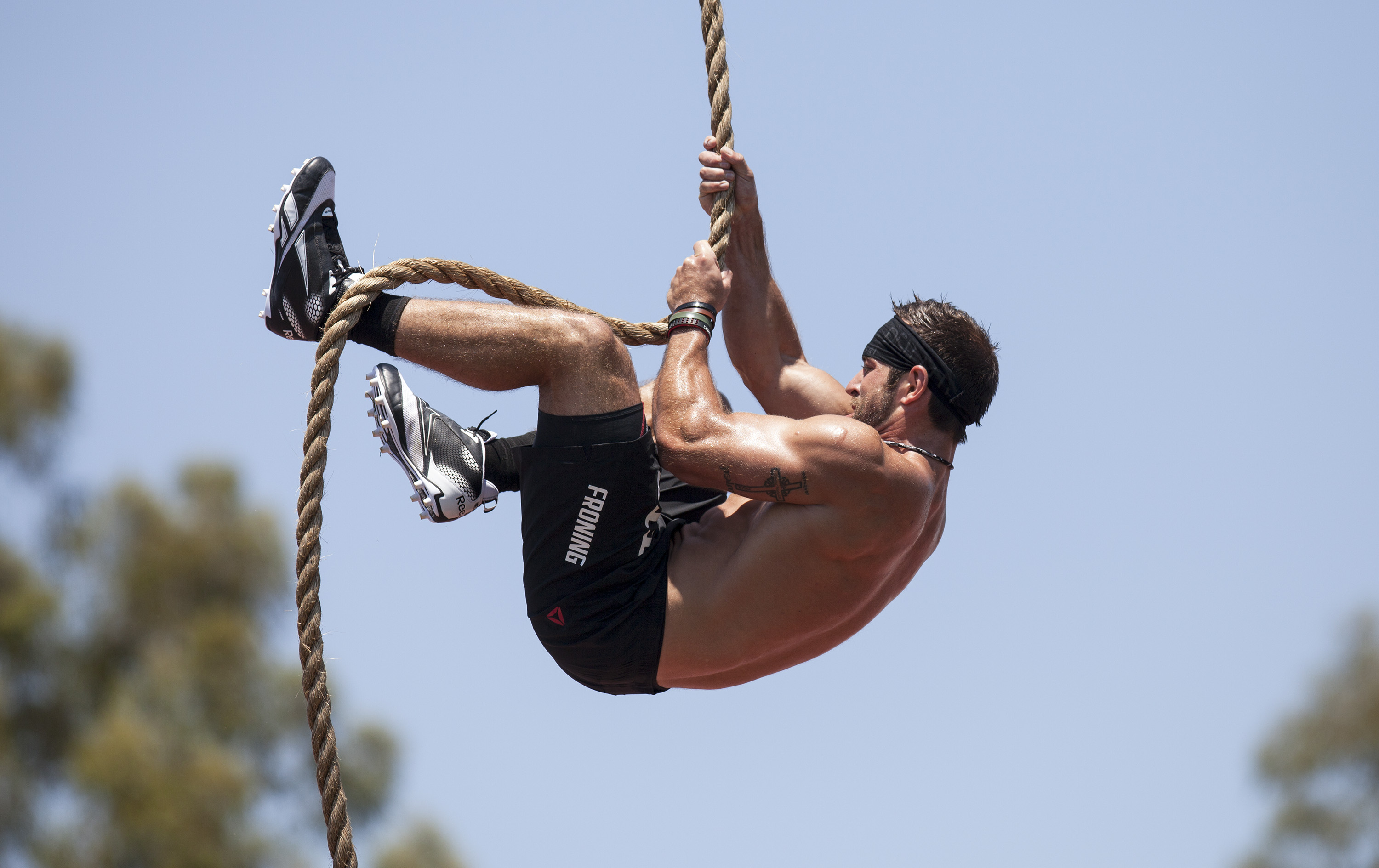 Plymouth CrossFit Rope Climb