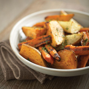 Smoked Roasted Rustic Root Vegetables